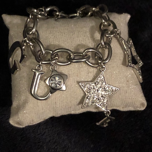 Guess Jewelry - GUESS Charm Bracelet with crystals..NEW Great Gift